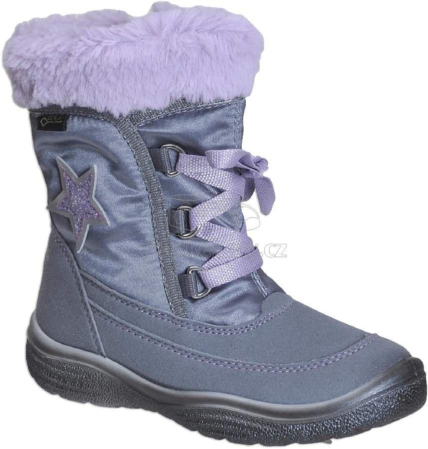 Dětské zimní boty Superfit 3-09093-25 63f5ed4868