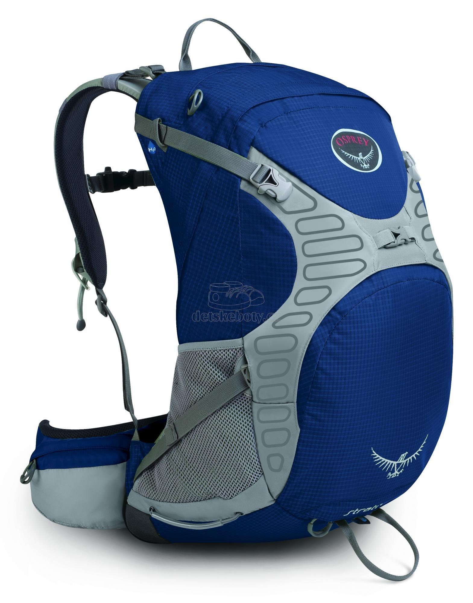 Osprey Stratos 34 (Tarn Blue)