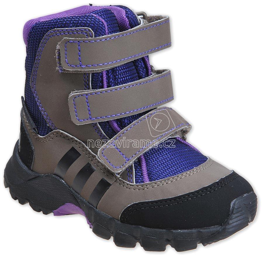 Detské zimné topánky adidas G97266