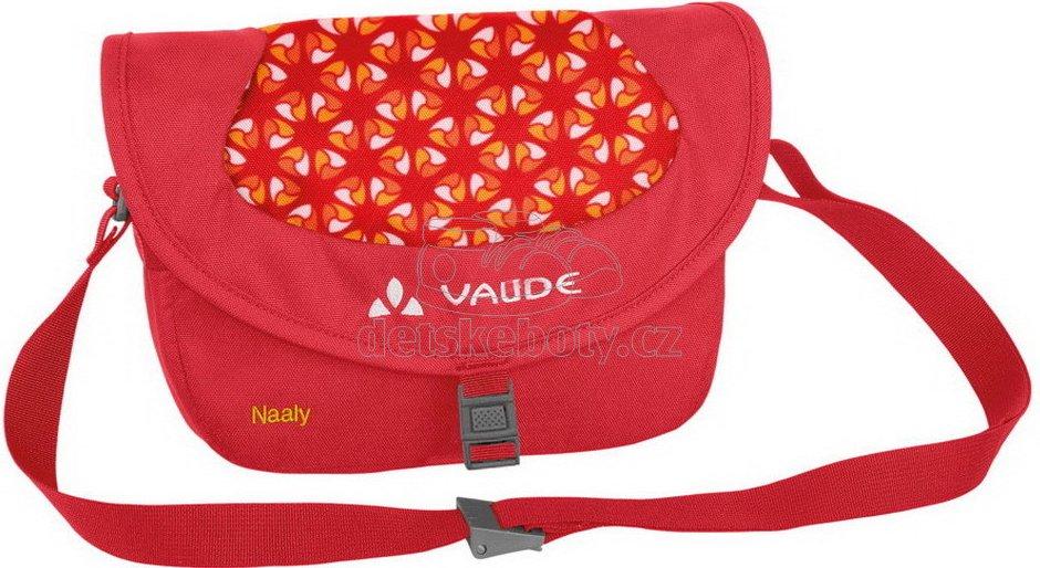 Vaude Naaly red/mandarine print