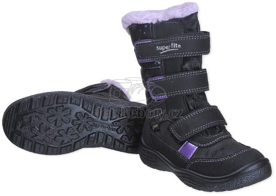 Dětské zimní boty Superfit 3-09092-00  9767a0224c