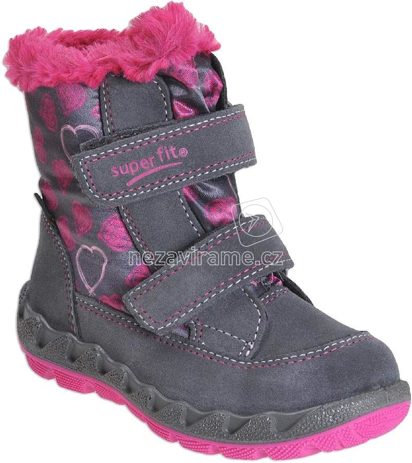Detské zimné topánky Superfit 1-00015-06