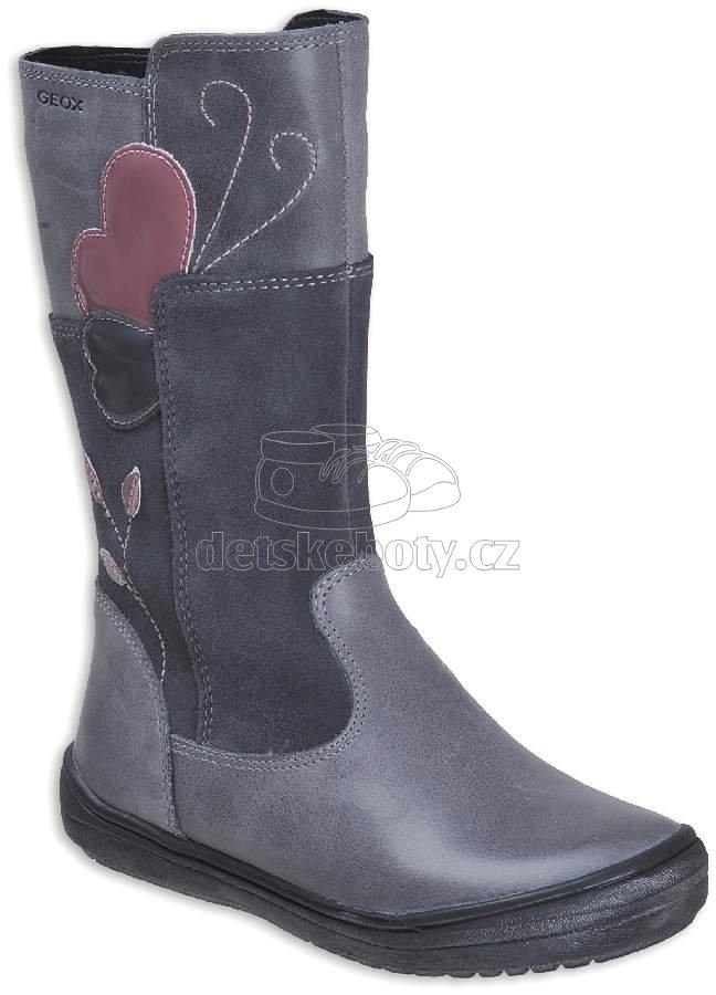 Detské zimné topánky Geox J847VE 0CL22 C9002