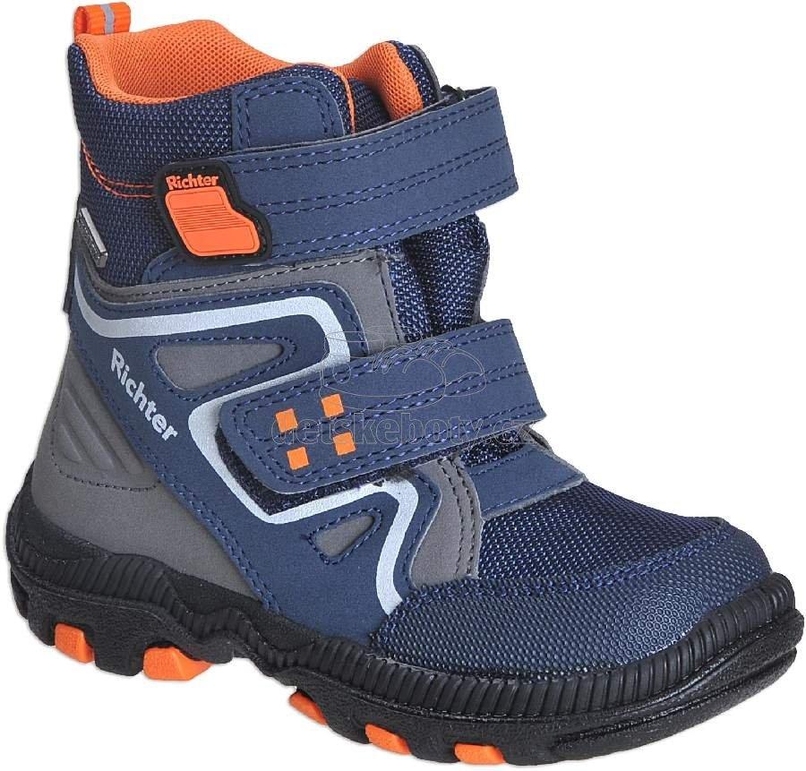 Detské zimné topánky Richter 8531-441-7201