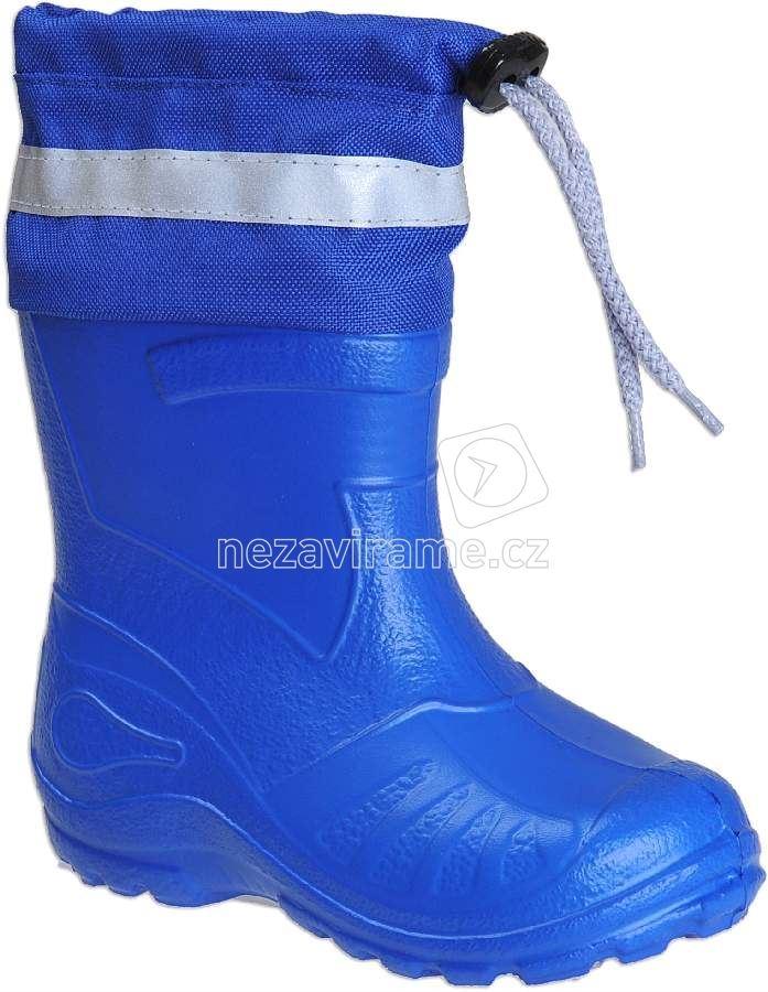 Detské gumáky Befado 165 P 001 sv.modrá