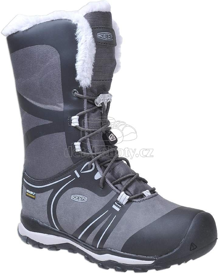Detské zimníé topánky Keen Terradora winter raven/vapor