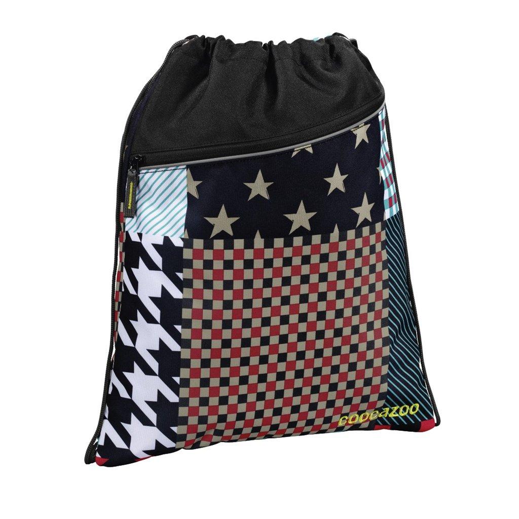 Športový vak na chrbát CoocaZoo RocketPocket, Unique Patch,  KAŽDÝ KUS JE ORIGINÁL