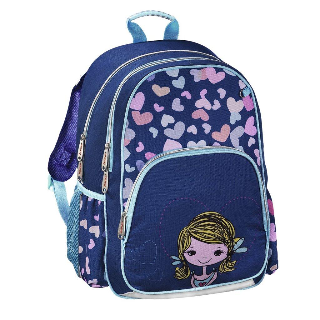 HAMA Školní batoh pro prvňáčky, Holčička
