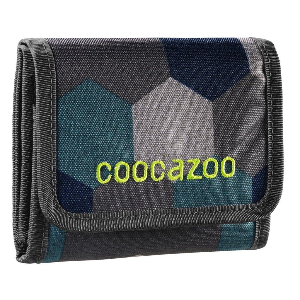 Peňaženka CoocaZoo CashDash, Blue Geometric Melange