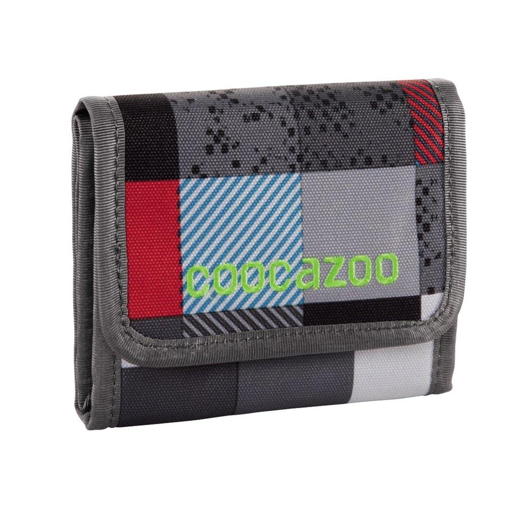 Peněženka CoocaZoo CashDash, Checkmate Blue Red