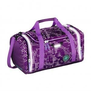 Sportovní taška SporterPorter, Purple Galaxy reflexní