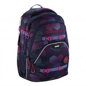 Školní batoh Coocazoo ScaleRale, Purple Illusi, certifikát AGR