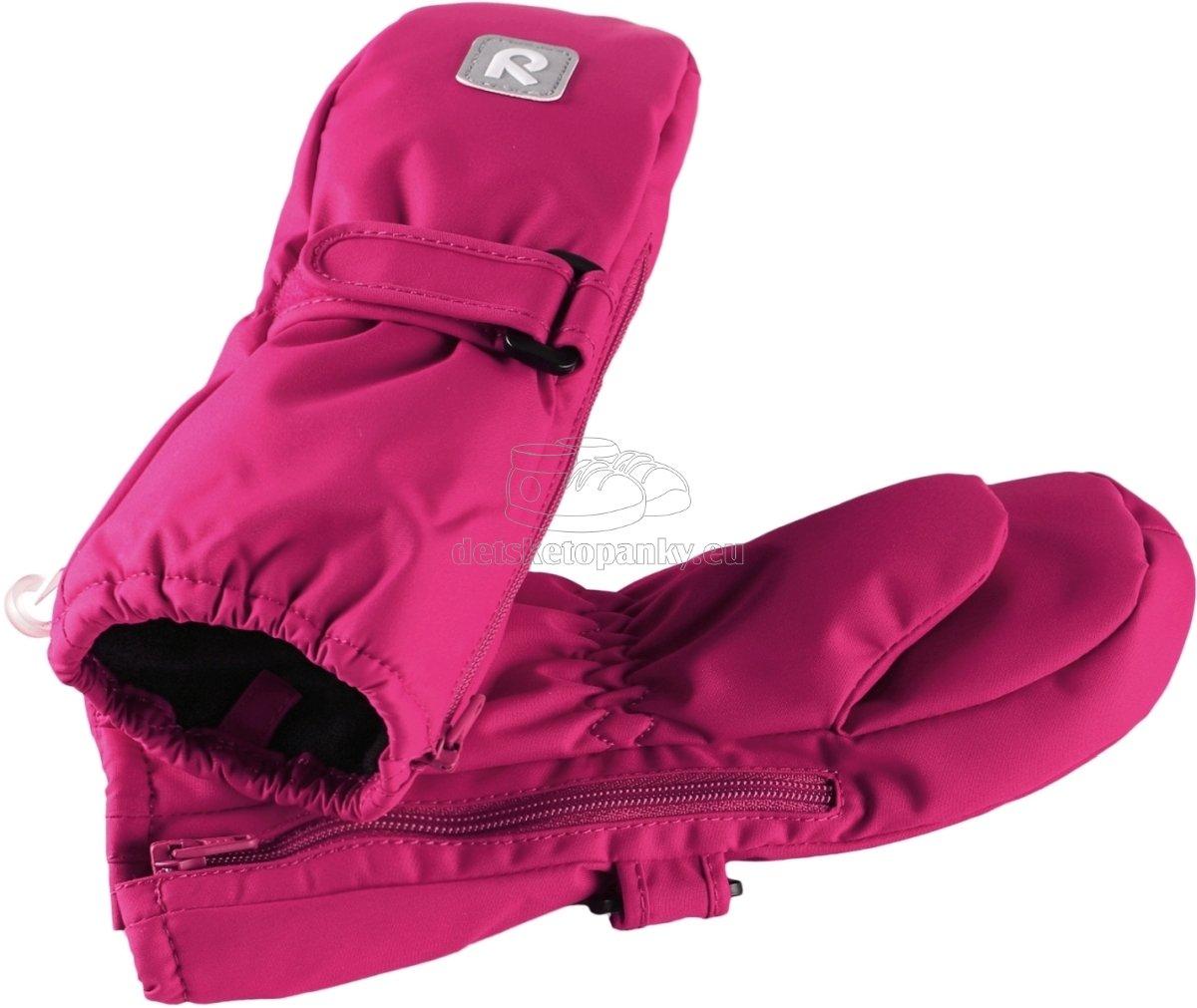 Detské rukavice Reima 517161 Tassu cranberry pink