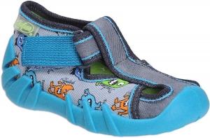 b2315d25496 Dětská domácí obuv Befado 190 P 085