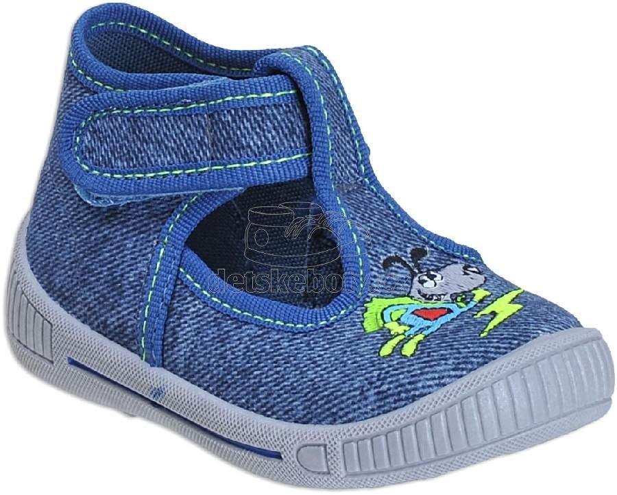 Detské topánky na doma Superfit 4-00252-82 5dbe39d1ad6