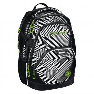 Školní batoh Coocazoo EvverClevver2, Black Track reflexní, certifikát AGR