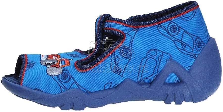 b5088019401 Dětská domácí obuv Befado 217 P 096