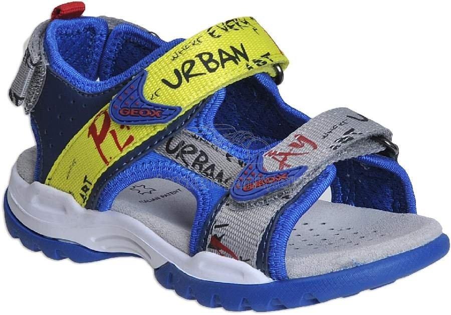 Detské letné topánky Geox J920RA 05415 C4502