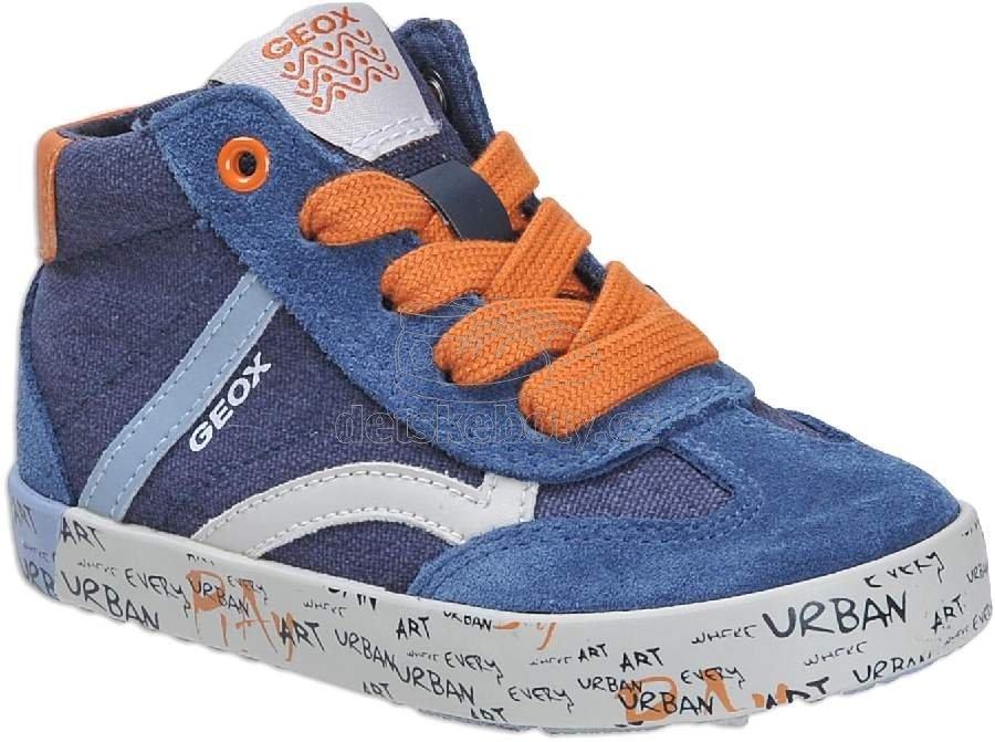 Dětské celoroční boty Geox B92A7E 01022 C4218 c250911771