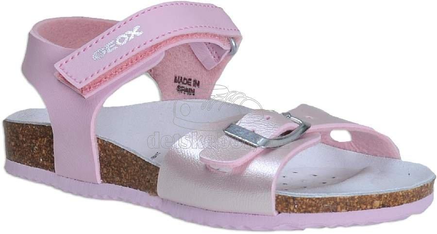 Detské letné topánky Geox J921CD 054AJ C8248