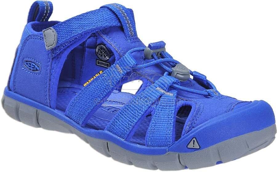 Nyári gyerekcipő Keen Seacamp bright blue