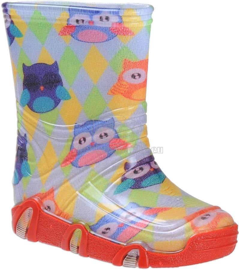 Detské gumáky Vela Shoes sova