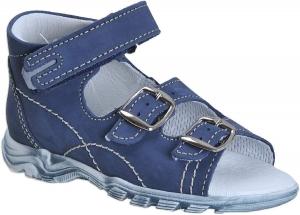 Nyári gyerekcipő Boots4u T-213 modrá