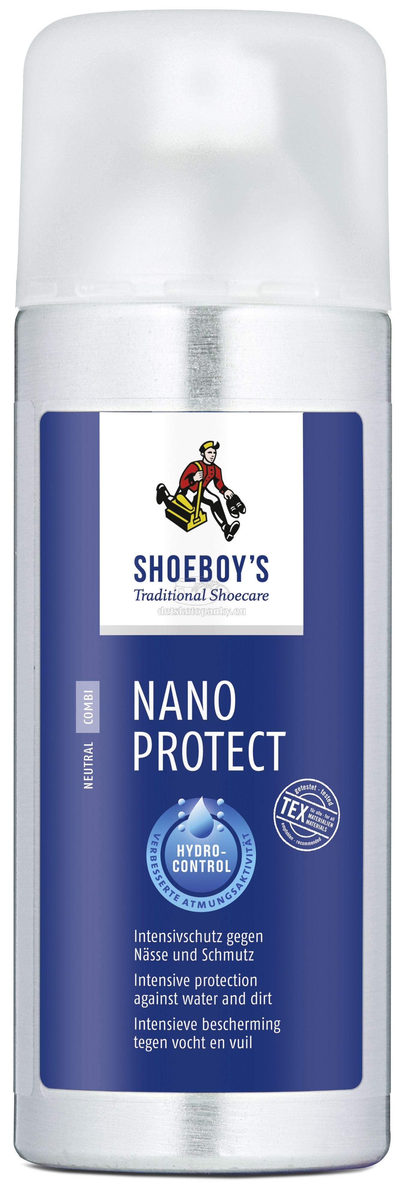 Shoeboy's Impregnacia na topánky Nano Protect 400 ml