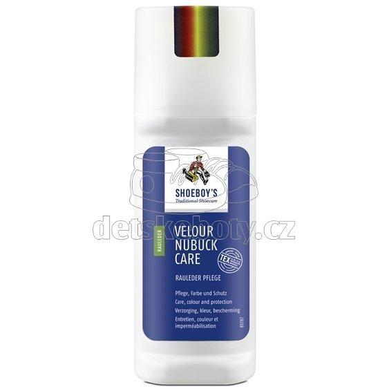 Impregnace a výživa s oživením barev, Shoeboy's Velours nubuck 75 ml - bezbarvá