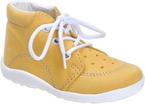 Babacipő BOOTS4U T014 sárga