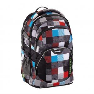 Školní batoh Coocazoo JobJobber2, Checkmate Blue Red 129882