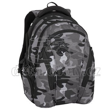BAG 8 CH BLACK/GRAY/WHITE