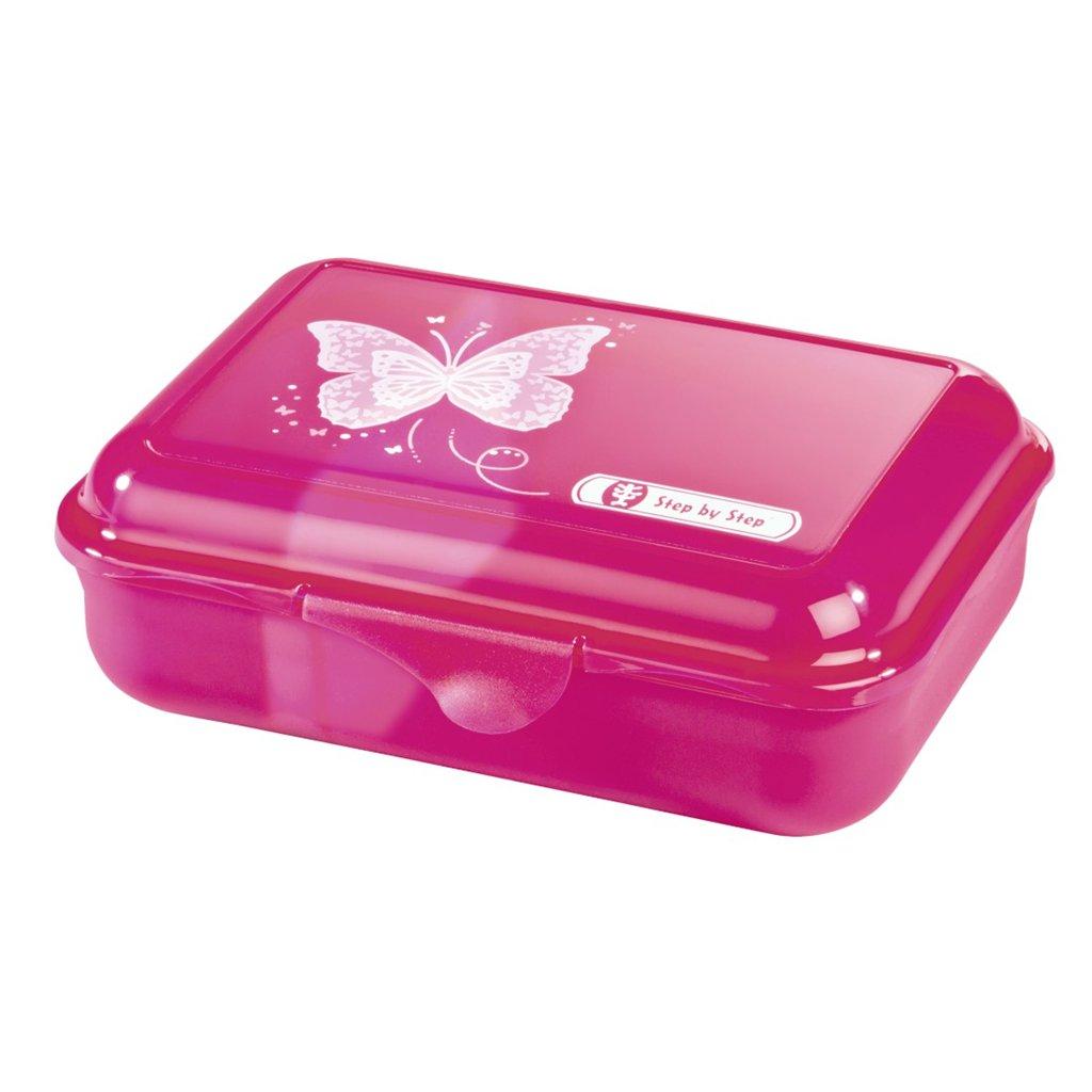 Krabička na svačinu Step by Step, Motýl