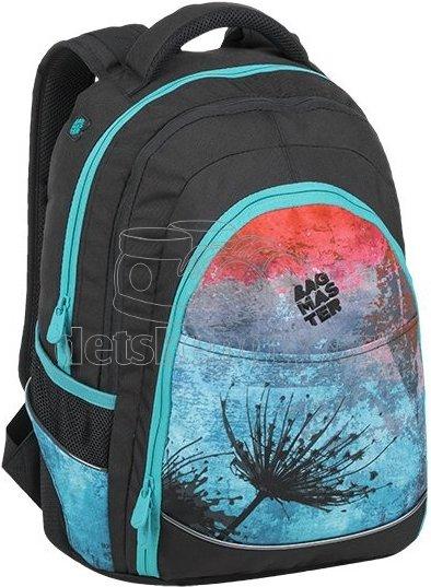 Studentský batoh BAGMASTER DIGITAL 9 A BLUE
