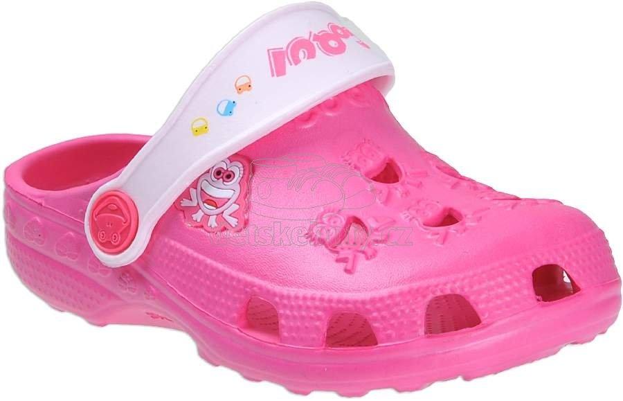 Dětské plážovky Coqui 8701 fuch/pink