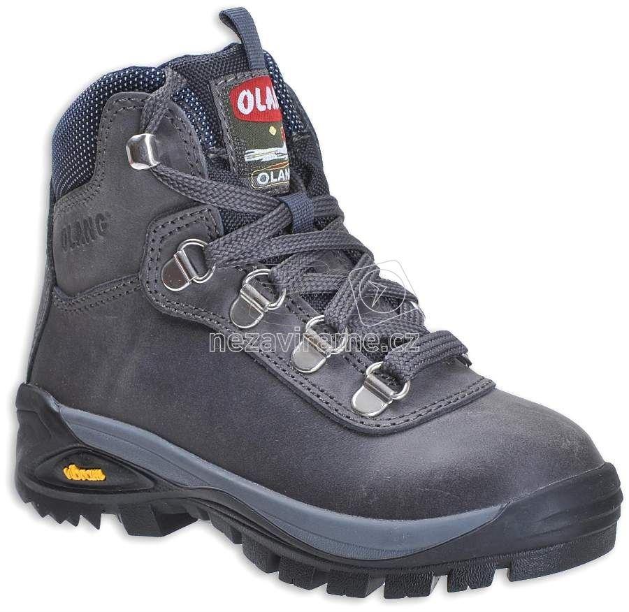 Turistické topánky Olang Logan 816 antracite