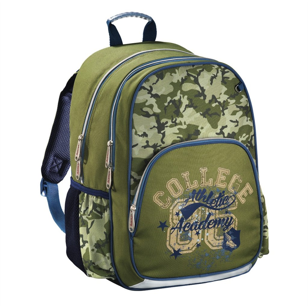 HAMA Školní batoh pro prvňáčky, Army