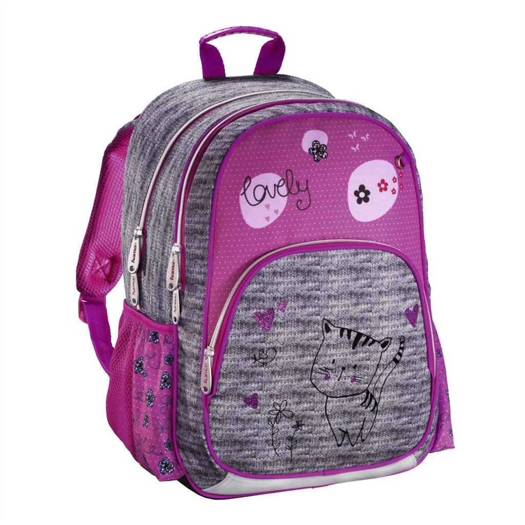 HAMA Školní batoh pro prvňáčky, Kočička