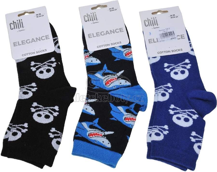 Detské ponožky Red sox 748 B