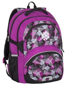 Bagmaster THEORY 7 A PINK/GREY/BLACK