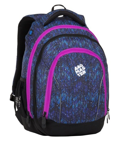 BAGMASTER SUPERNOVA 8 A BLACK/BLUE/PINK