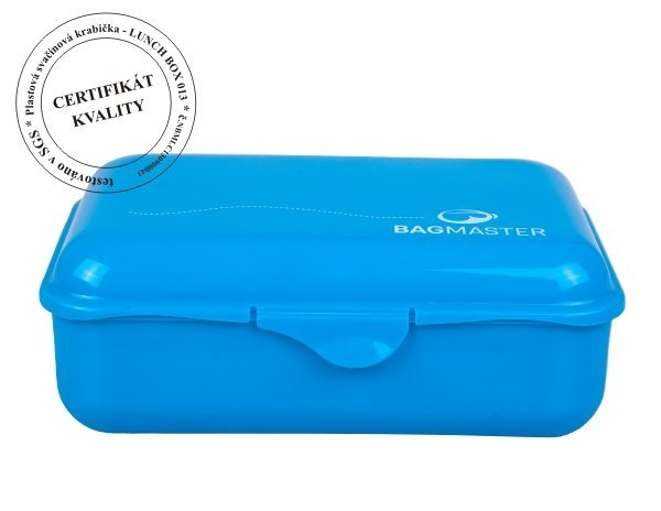 Svačinová krabička LUNCH BOX 013 B BLUE