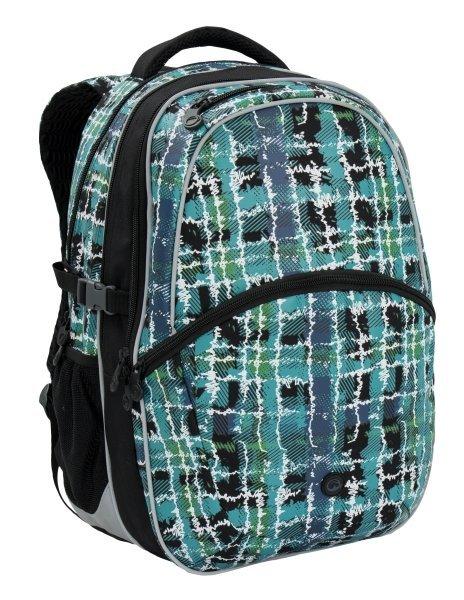 Klučičí školní batoh Bagmaster MADISON 6 D BLACK/BLUE