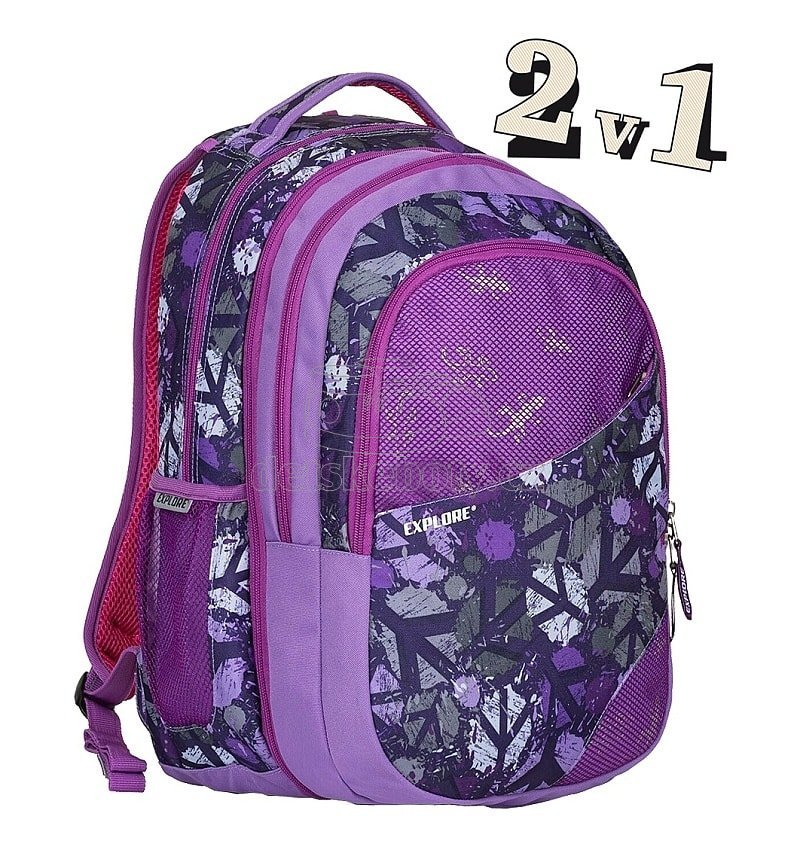Emipo 2v1 DANIEL B-1823-1.122 Peace Purple