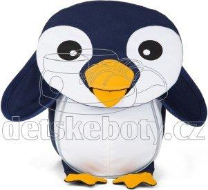 Batůžek pro nejmenší Affenzahn Pepe Penguin small - blue