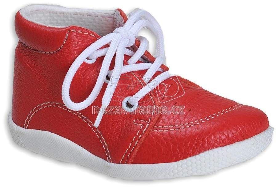 Babacipő BOOTS4U T014 piros