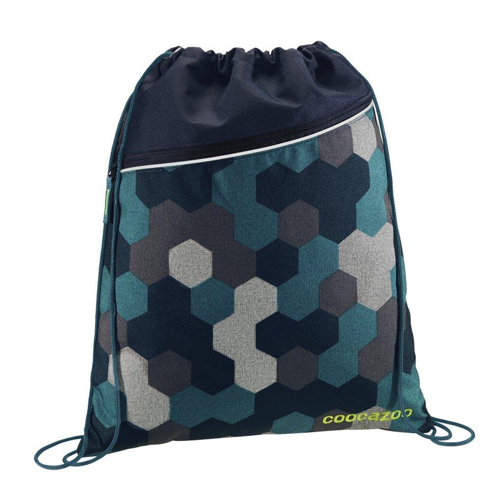 Športový vak na chrbát coocazoo, Blue Geometric Melange