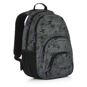 Studentský batoh Topgal HIT 897 C - Grey