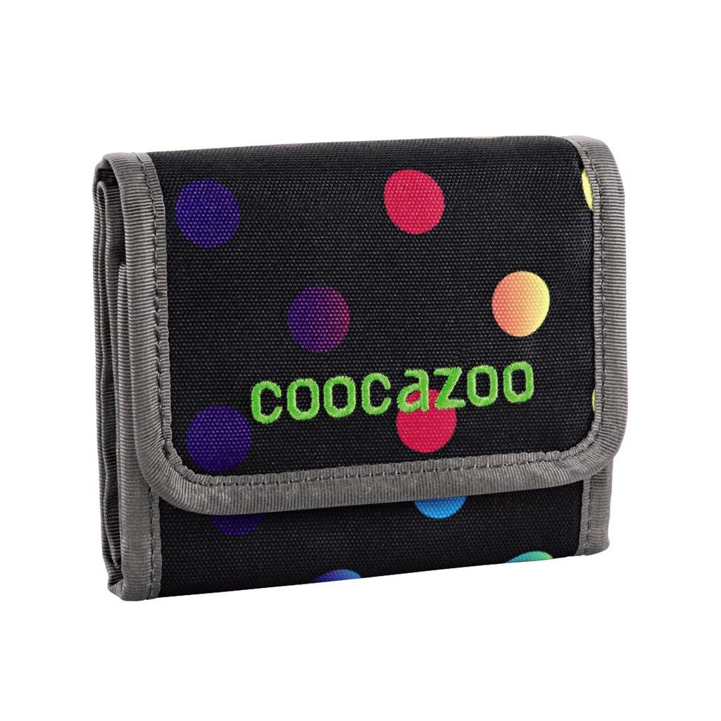 Peňaženka CoocaZoo CashDash, Magic Polka Colorful