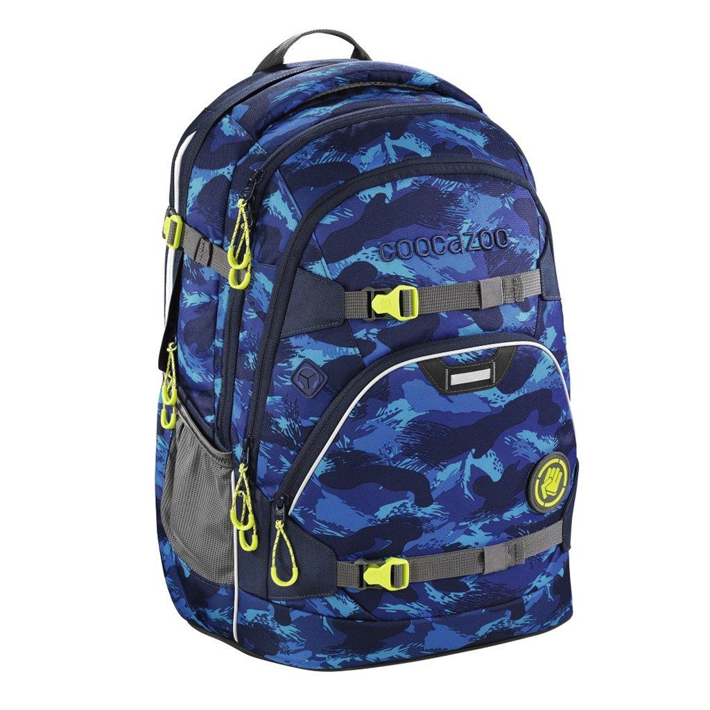 Školní batoh Coocazoo ScaleRale, Brush Camoug, certifikát AGR
